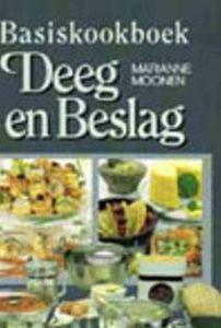 Marianne  Moonen, Basiskookboek deeg en beslag