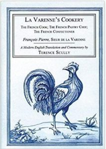 Terence Scully, La Varenne's cookery